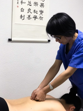Traditional Chinese massage technique
