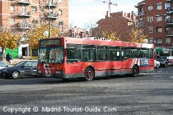 Madrid Airport EMT Bus service