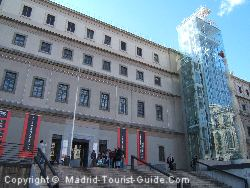 Reina Sofia Gallery Entrance