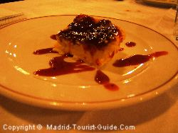 Delicious cheesecake at Casa Patas