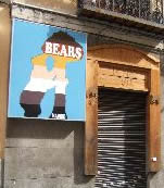 The Bear Bar is popular with the gay community