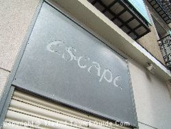 Escape is just off Plaza Chueca, right next to the metro