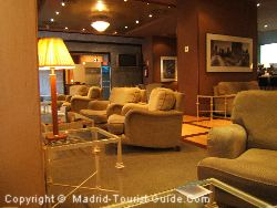 The Interior Of The Abba Hotel Madrid