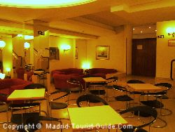 The Comfortable Salon In The Sterling Hotel Madrid