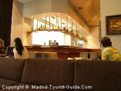 The Piano Bar In The Atocha Hotel Madrid Rafael