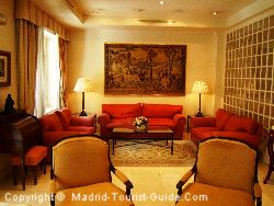 The Lounge Area Next To The Restaurant In The Atlantico Hotel Madrid
