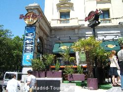 The Hard Rock Café Is Downstairs In The Fenix Gran Hotel Madrid Melia