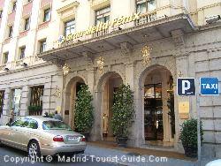 Review Fenix Gran Hotel Melia Madrid Spain