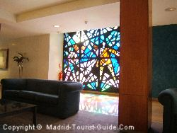 One Of The Artistic Windows In The Hotel Colon