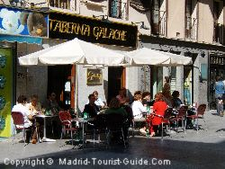 A Coffee Bar On The Same Street As The Hotel Europa Madrid