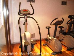 Exercise Machines In The Fitness Area
