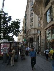 The Buzzing Street Of Gran Via