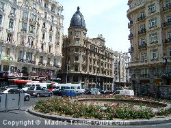 Gran Via Is Full Of Ornate Buildings