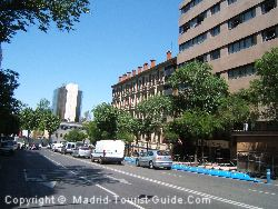 A View Of The Street Of Diego De Leon Next To The Melia Madrid Serrano Hotel Madrid