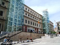 The Reina-Sofia Museum Is One Of The Views From The Rear Rooms At The Hotel Mediodia Madrid