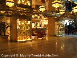 Some Of The Shops In The Hotel Melia Castilla
