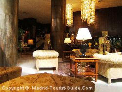The Grand Lobby Area In The Hotel Melia Madrid Princesa