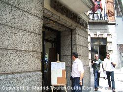 The Restaurant Belonging To The Hotel Mora Madrid