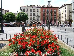 The Square Outside The Opera House And A Few Steps Away From The Hotel Opera Madrid