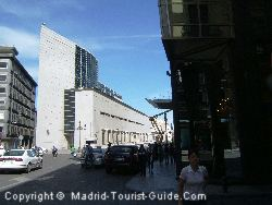 The Hotel Urban Madrid And The Modern Building Opposite