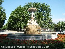 Retiro Park Is Within 5 Minutes Walk