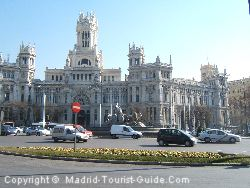 The Palacio de Comunicanciones in Cibeles Square