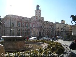 The Puerta Del Sol - Medieval City Tour of Madrid